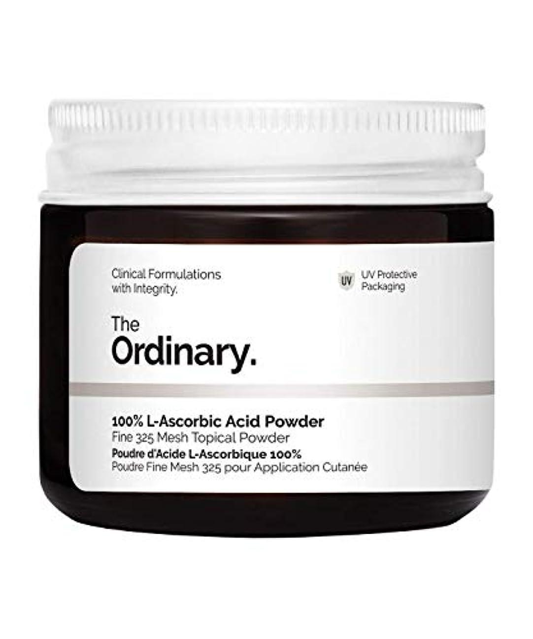 感謝している立法エンディングThe Ordinary 100% L-Ascorbic Acid Powder