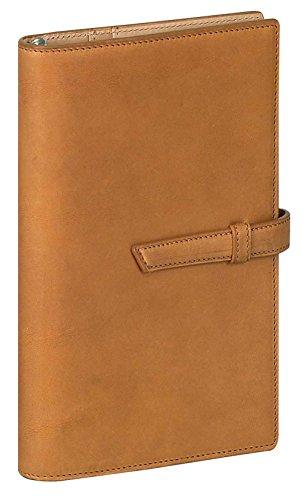 ダ・ヴィンチグランデ アースレザー 聖書サイズシステム手帳 リング15mm DB1272 C [ブラウン]