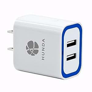 USB充電器 ACアダプタ 2ポート 17W USBコンセント iSmart機能搭載 Apple & Android 各種対応 USBアダプタ