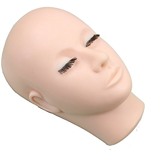 Dreambeauty メイク練習用 モデル 組み込みまつげ 美容室用 マッサー...
