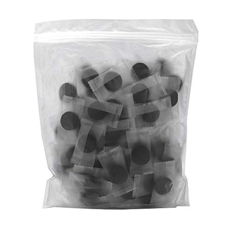 前電卓レーザ竹炭繊維 100ピース 圧縮フェースマスク 紙DIY スキンケア diy フェイシャルマスク