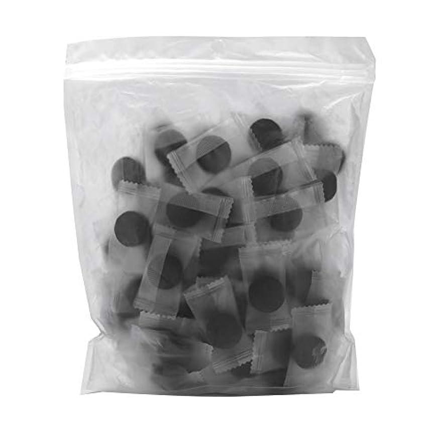 欠乏ピットスリチンモイ竹炭繊維 100ピース 圧縮フェースマスク 紙DIY スキンケア diy フェイシャルマスク