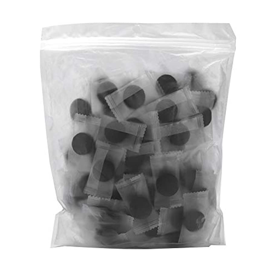 没頭する加速するフェロー諸島竹炭繊維 100ピース 圧縮フェースマスク 紙DIY スキンケア diy フェイシャルマスク