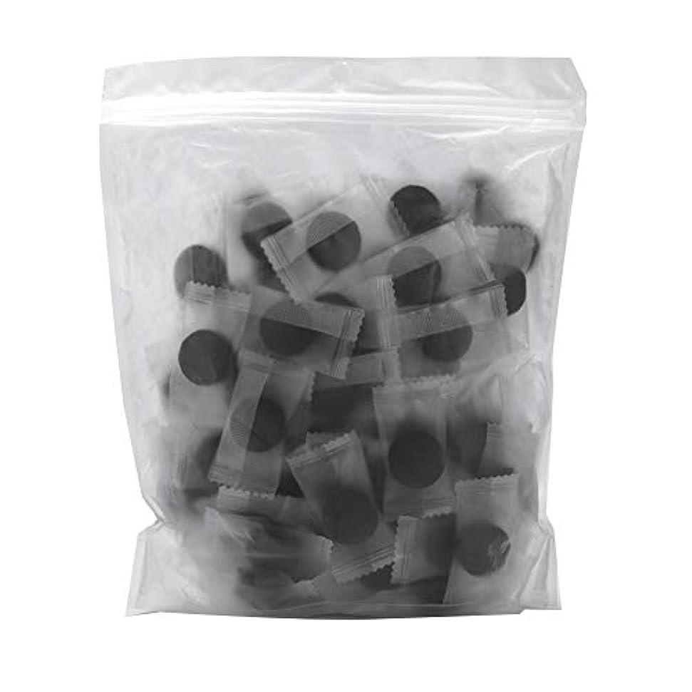 切るシガレットリード竹炭繊維 100ピース 圧縮フェースマスク 紙DIY スキンケア diy フェイシャルマスク