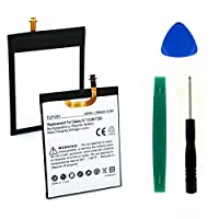 Samsung sm-t280タブレットバッテリー(Li - Pol、3.8V、4000mAh)交換用for Samsung eb-bt280aba、eb-bt280電池含ま–インストールツール