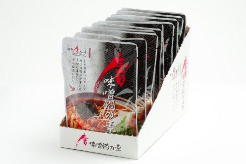 唐味噌鍋の素 特製化粧箱入り10パック×6セット 1ケース(60パック)お得な大人買い用