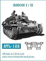 フリウルモデル 1/35 金属可動履帯 バイソン I/II用 金属パーツ ATL-122