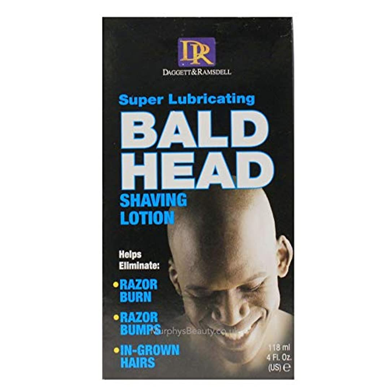 胸フォロー輝度Daggett & Ramsdell Super Lubricating Bald Head Shaving Lotion Hair Removal Products (並行輸入品)