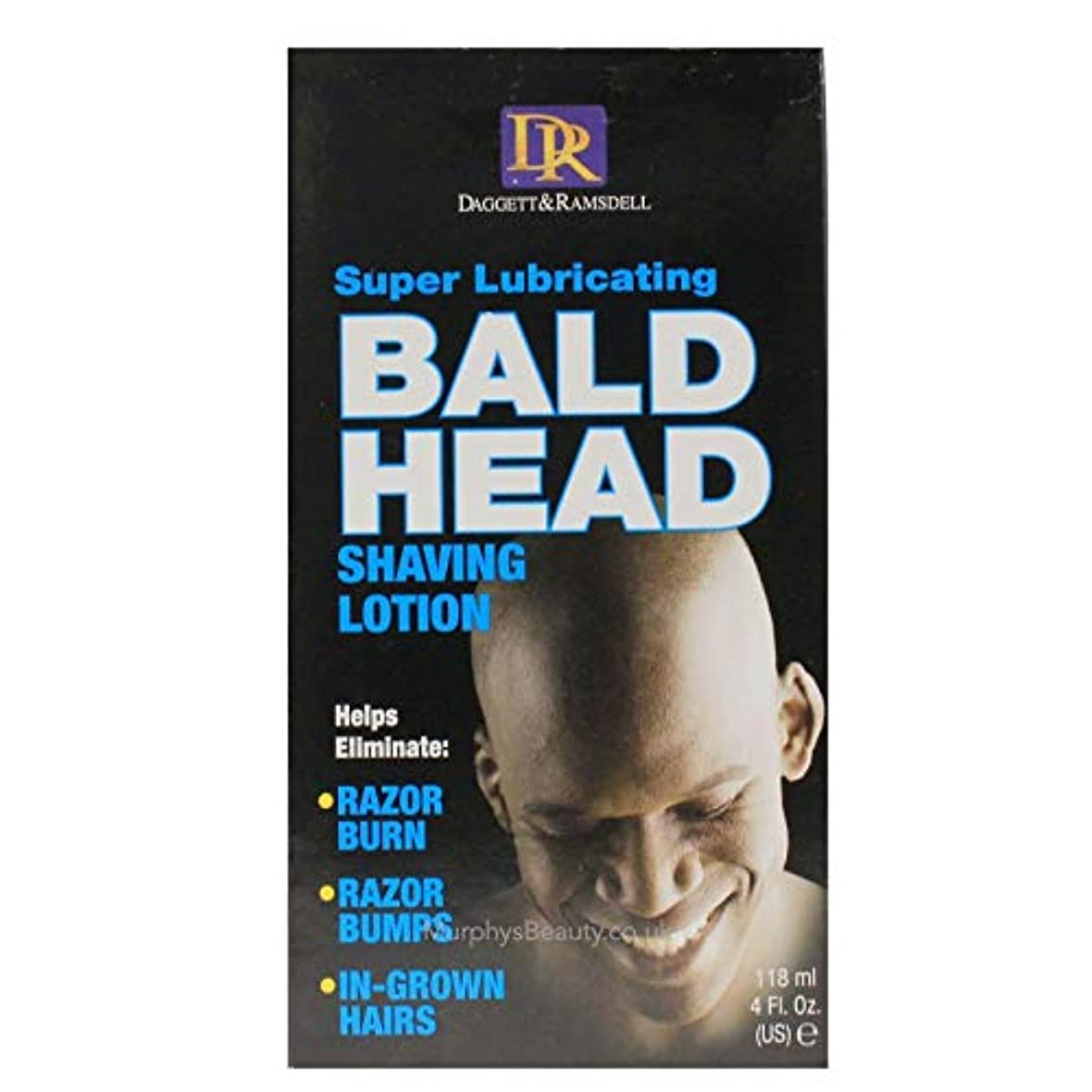 Daggett & Ramsdell Super Lubricating Bald Head Shaving Lotion Hair Removal Products (並行輸入品)