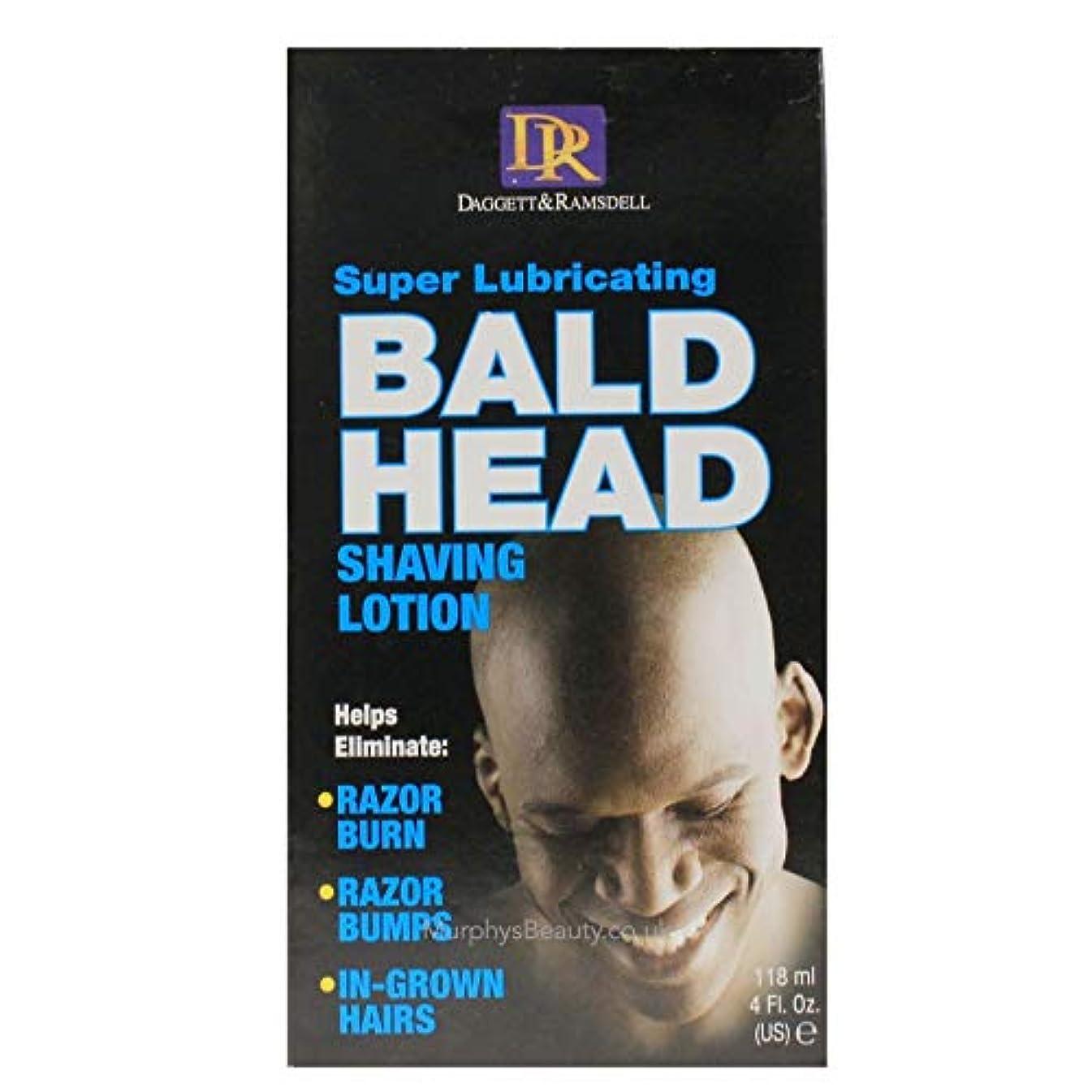 支配的陸軍そよ風Daggett & Ramsdell Super Lubricating Bald Head Shaving Lotion Hair Removal Products (並行輸入品)