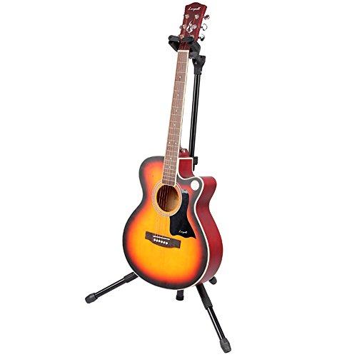 Hitopway ギター ホルダー スタンド ブラケット 折りたたみ ギター用