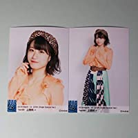 NMB48 上西怜 AB 床の間正座娘 ランダム 2019 3月 March-rd 20th single special ver. 生写真 2種コンプ