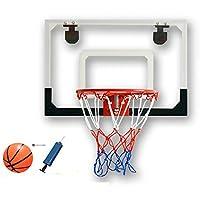 ixaer バスケットゴール 3点セット 壁掛け?ドア掛け式 室内練習 レジャー ファミリースポーツ 透明