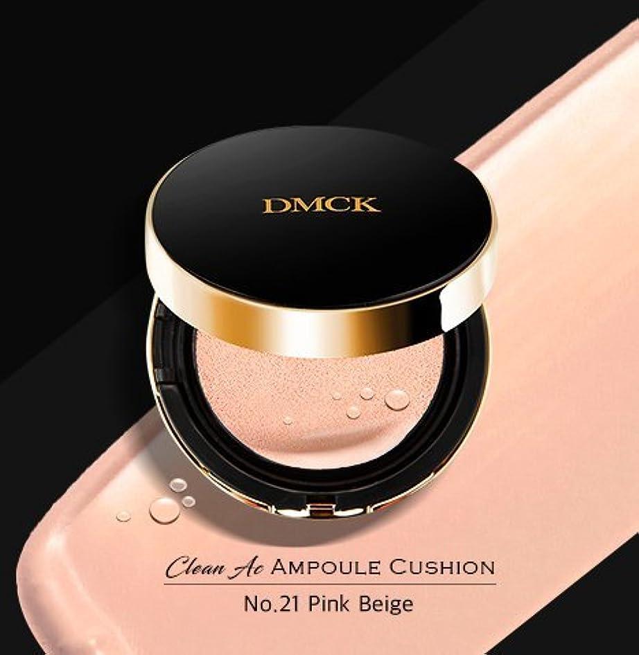 サーカス立派な軽食DMCK Clean Acne Ampule Cushion SPF50+/PA+++ (021 Watery Pink Beige)
