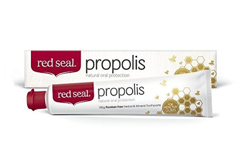シャー競う欲望red seal propolois 歯磨き粉 100g