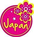 トラベルステッカー 日本 JAPAN ハイビスカス 旅行シール~スーツケース タブレットPCに