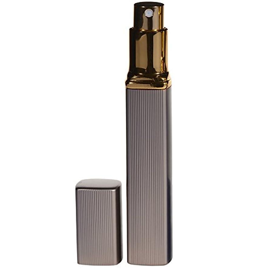 直接水没ボアRioa 大人香るアトマイザー  男女兼用 メンズ レディース かわいい ロート付き アトマイザー 香水瓶 噴霧器 香水吹き 詰め替え 12ml (1個, ブラウン)
