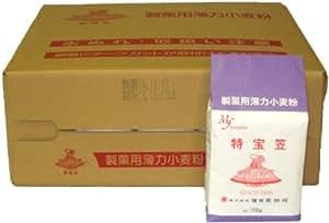 増田製粉所 特宝笠(製菓用薄力小麦粉) 700g×15袋