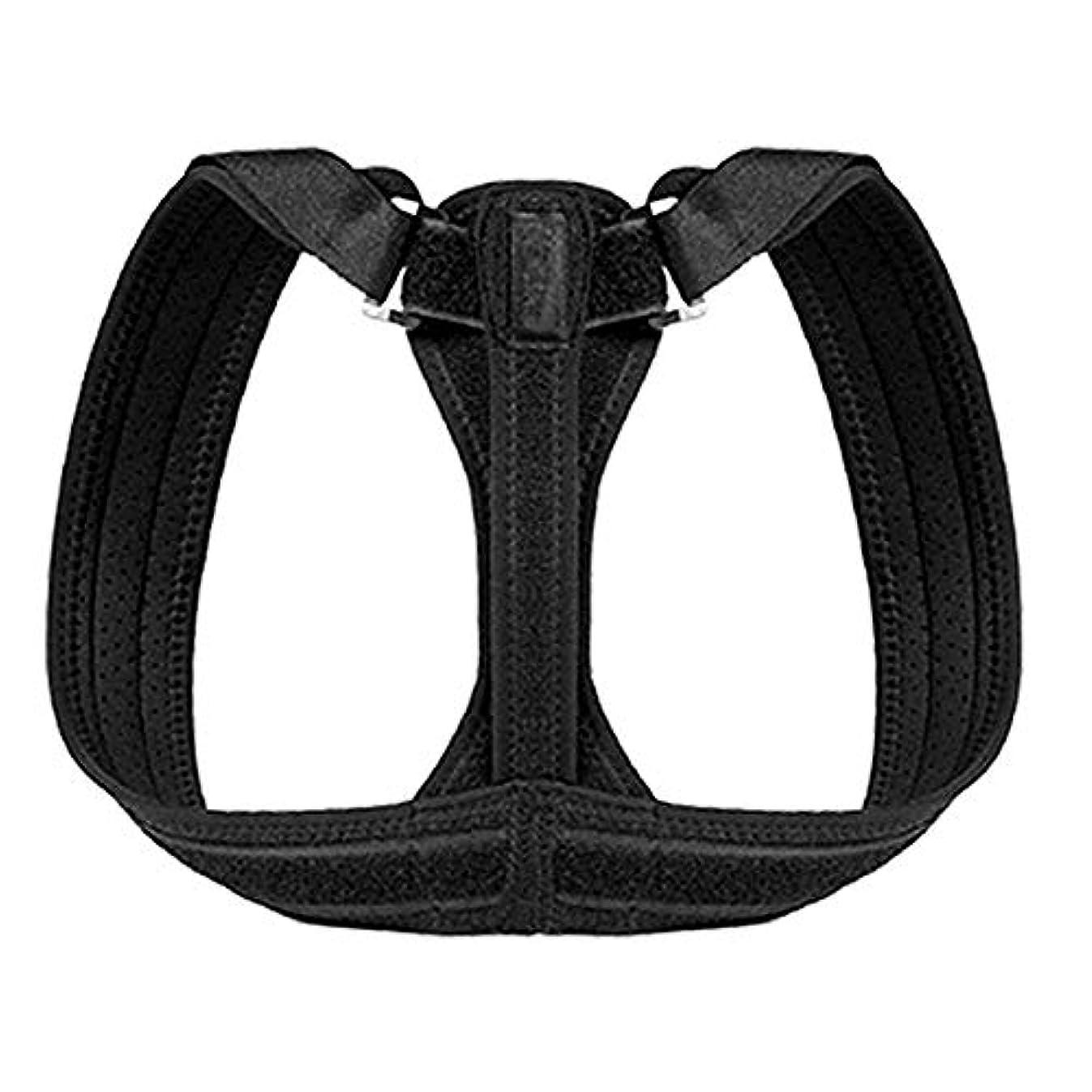 レバー安らぎ残り完璧な姿勢の正しい、女性の男性のための脊椎のサポート、肩首の痛みの軽減、背中の矯正、調整可能な治療ブレース、アライメント用のトレーナー,S
