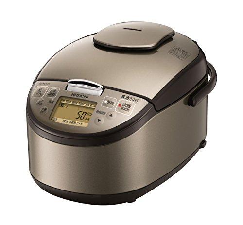 日立 炊飯器 5.5合 圧力IH式 日本製 3段階炊き分け機能搭載 蒸気セーブ RZ-AG10M T