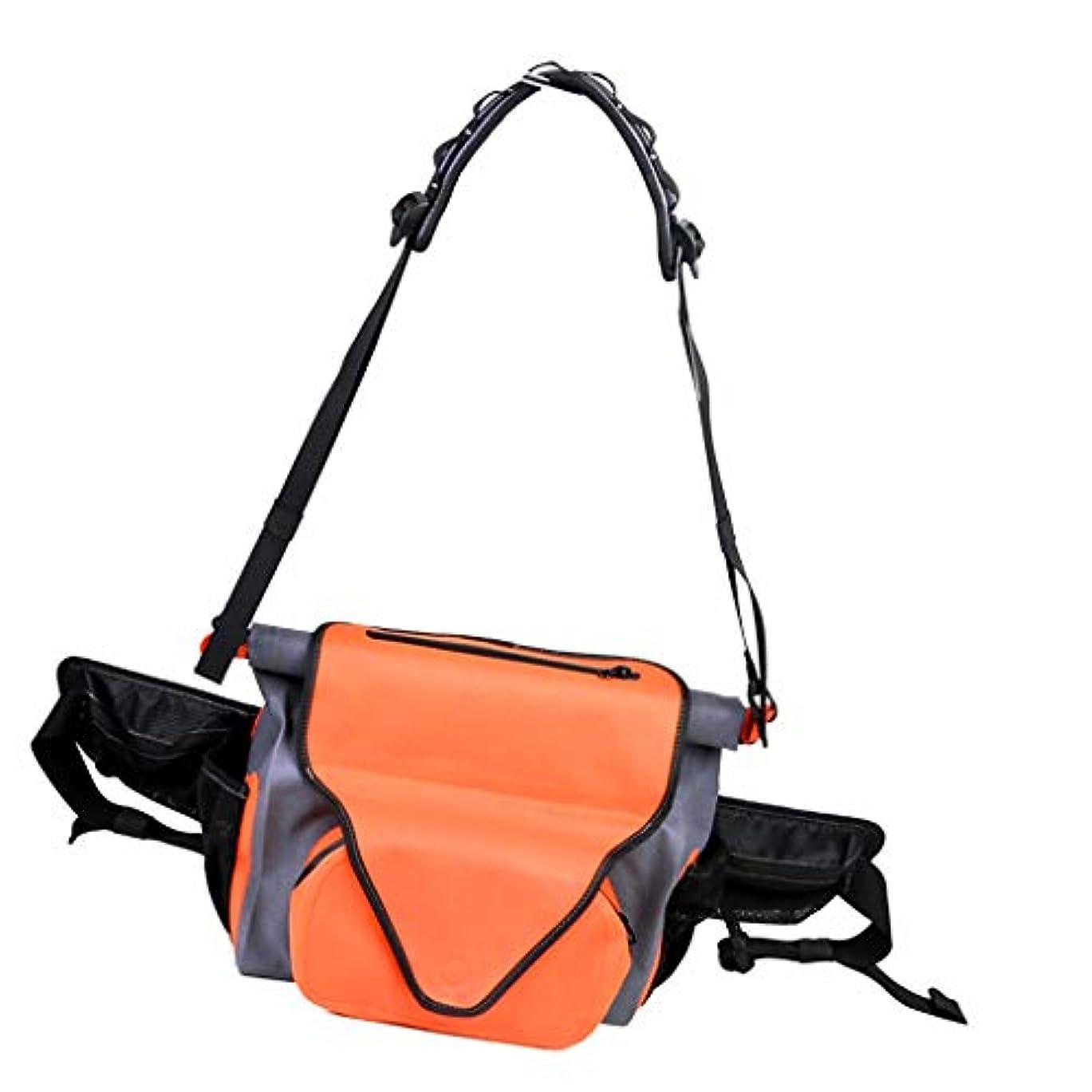 チューブ計算可能を除くDYNWAVE タックルバッグ 釣り袋 マルチポケット 釣り道具 調節可能 大容量 軽量