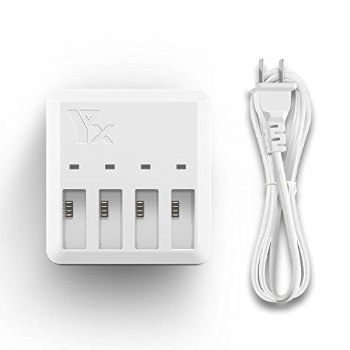 TELLO 充電器 4 in 1 バッテリー ラピッド平行 充電器 マルチバッテリインテリジェント充電ハブ
