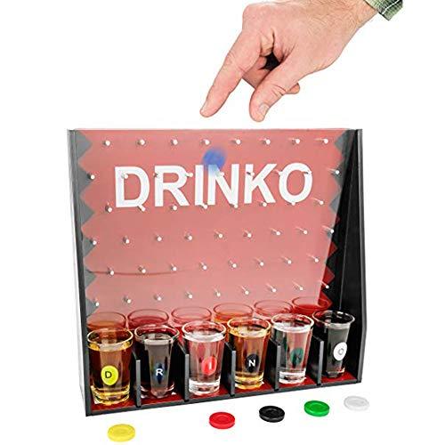 飲酒ゲーム, 落下爆弾バケツワインゲームワインラックヨーロッ...
