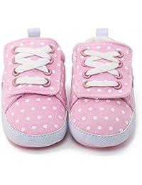 Itaar Baby Girls Sneakers Non-Slip Rubber Sole Infant Toddler Walking Shoes Pink by Itaar