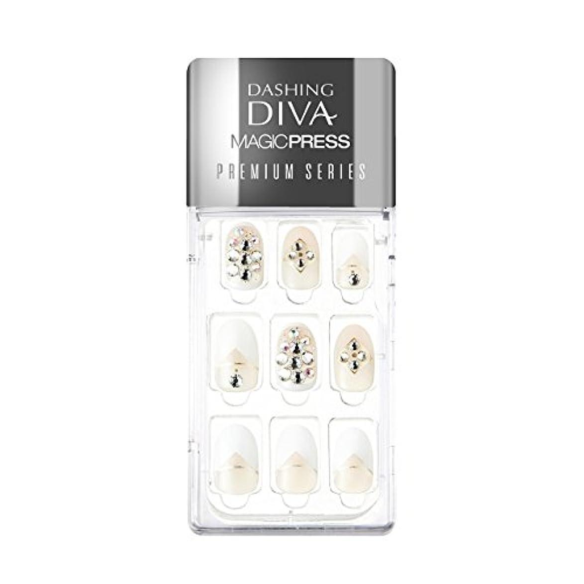 嵐の食用洗剤ダッシングディバ マジックプレス DASHING DIVA MagicPress MJP_003PR-DURY+ オリジナルジェル ネイルチップ