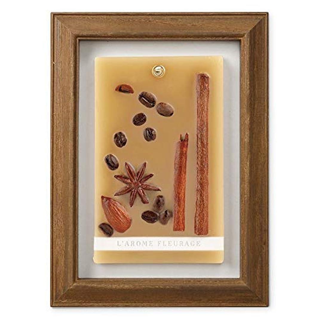 ラップ作る名義でFLEURAGE(フルラージュ) アロマワックスサシェ コーヒーの香り Coffee×AntiqueBrown KH-61117