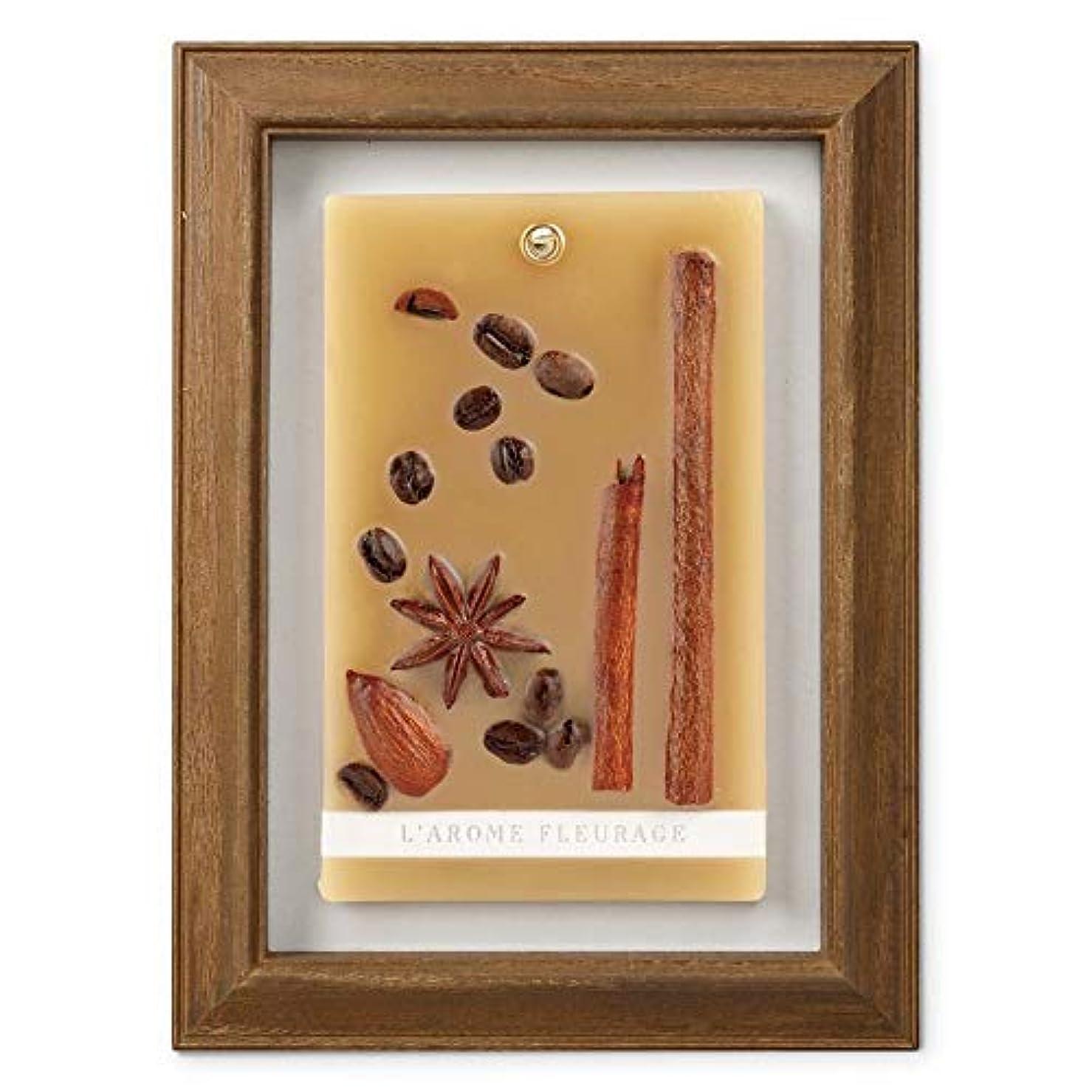 スチール手冒険家FLEURAGE(フルラージュ) アロマワックスサシェ コーヒーの香り Coffee×AntiqueBrown KH-61117