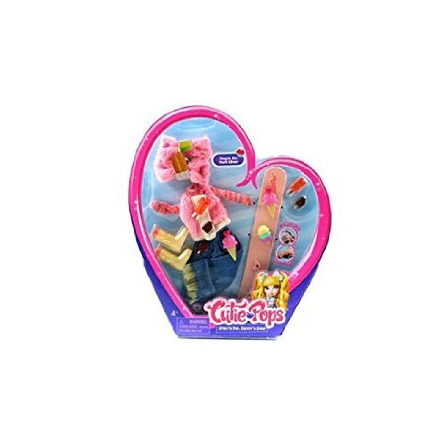 Cutie Pops Dolls Fashion Accessory Pack - Day in the Park Wear