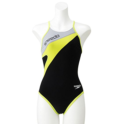 6ff6fa84684 SPEEDO(スピード)ウイメンズトレインカットスーツ レディース 競泳トレーニング水着 練習用 SD57T03 GV