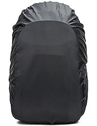 リュックカバー レインカバー 雨よけ ザックカバー 2倍防水 耐水压5000mm 落下防止のクロスバックル 収納袋付き 5サイズ(15L -90L) 8色 Frelaxy