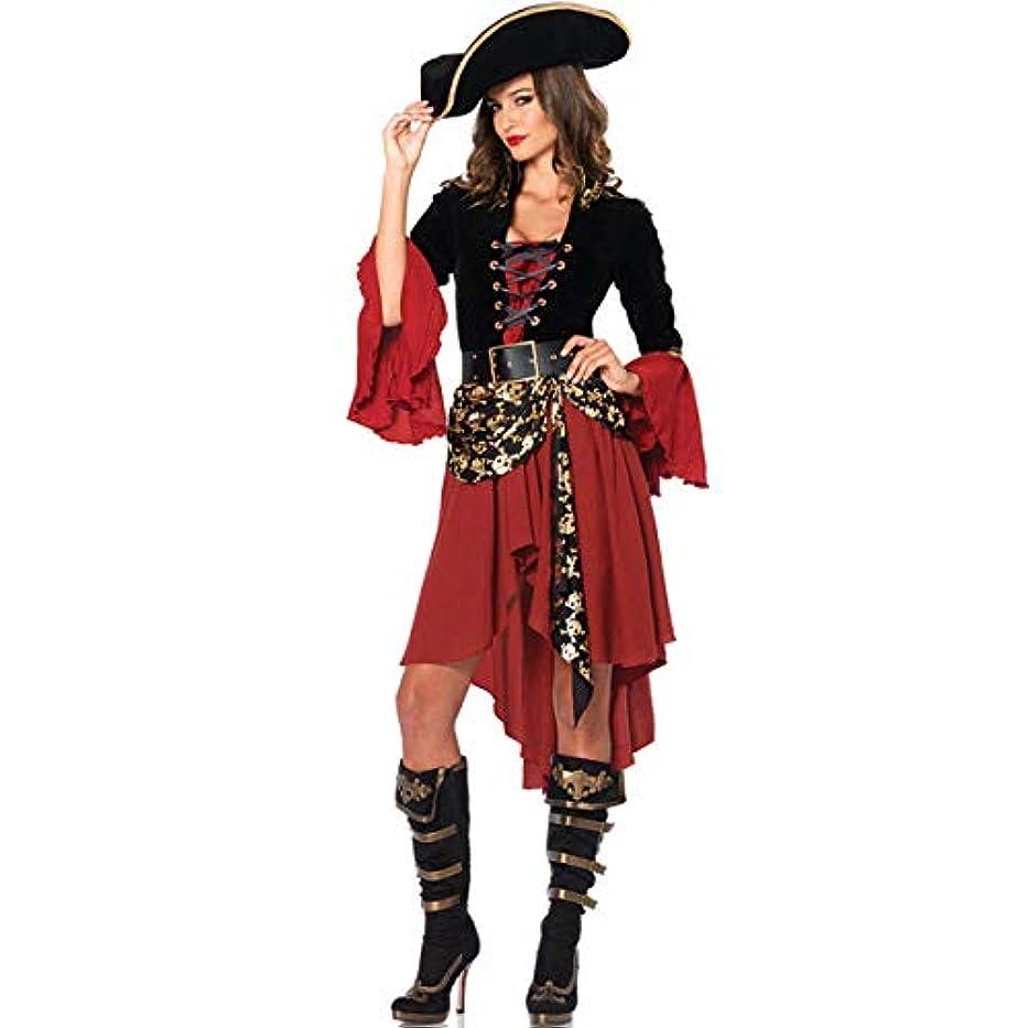 忠実に不屈鮮やかな【Selling-fashion】高品質 ハロウィン 大人cosplay 仮装 衣装 コスプレ コスチューム カリビアンスペイン海賊の衣装ハロウィーンのファンシードレスコスプレ女性の仮装