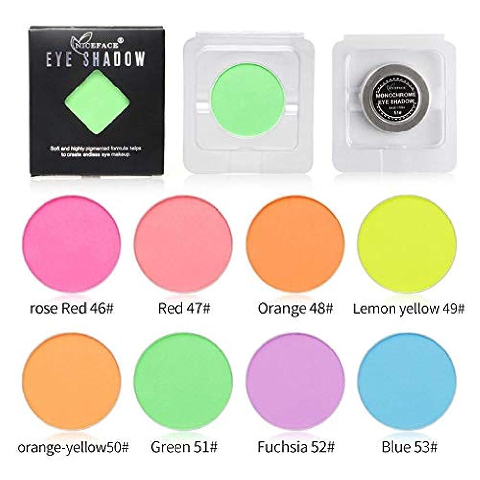 かりてフルートタイムリーなMing-Dian 8色鮮やかなアイシャドウパレットカラーグローアイシャドウロングラスティングメイクアップパレット