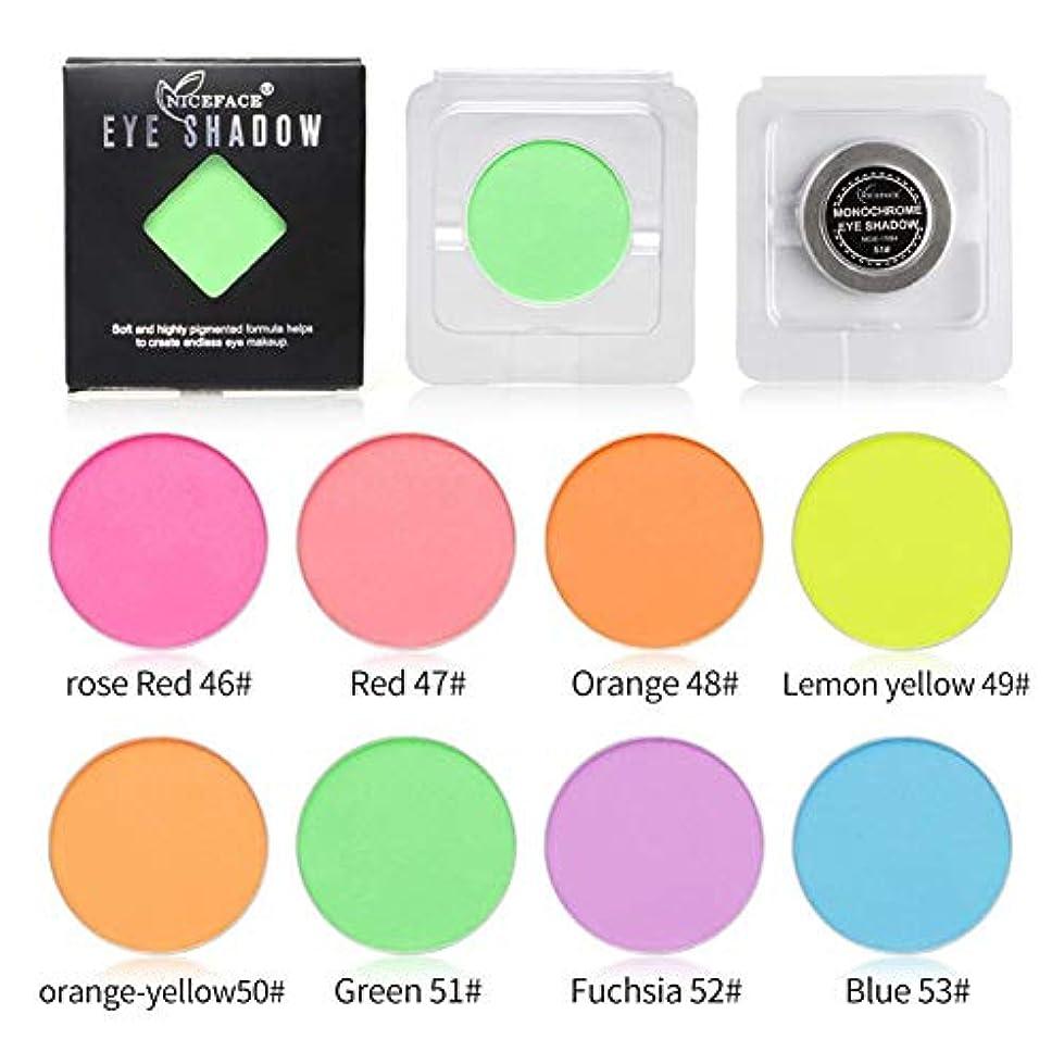 シャークレオナルドダ促すMing-Dian 8色鮮やかなアイシャドウパレットカラーグローアイシャドウロングラスティングメイクアップパレット