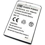 MUGEN POWER Xperia/Xperia PLAY SO-01D兼用互換性大容量電池パック 1800mAh