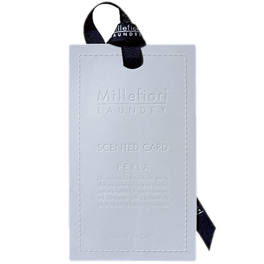 廃止する超える煙突Millefiori センテッドカード パール CARD-A-002