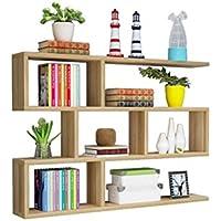 キャビネットのリビングルームの本棚にぶら下がっている現代的なミニマリストウォールシェルフのダイニングルーム (サイズ さいず : 100X15X84cm)