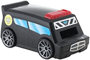 【日本正規代理店品】【iPhoneをパトカーにセットして遊ぶ3Dカーチェイス】 Looksi Turbo Cops LO03