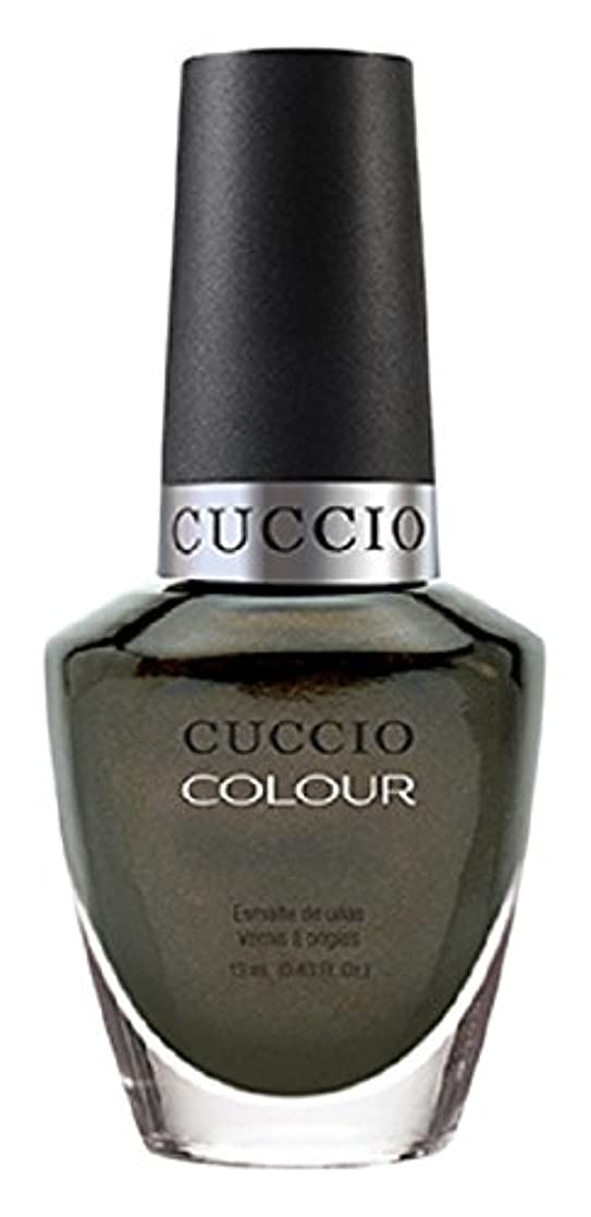ラフ無力異常なCuccio Colour Gloss Lacquer - Olive You - 0.43oz / 13ml