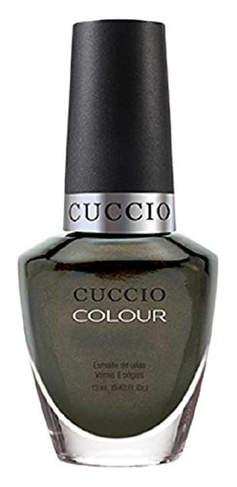 バーター賞賛扱いやすいCuccio Colour Gloss Lacquer - Olive You - 0.43oz / 13ml