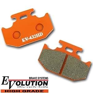Evolution ハイグレード ブレーキパッド EV-432HD KLX250SR KLX250R KX250