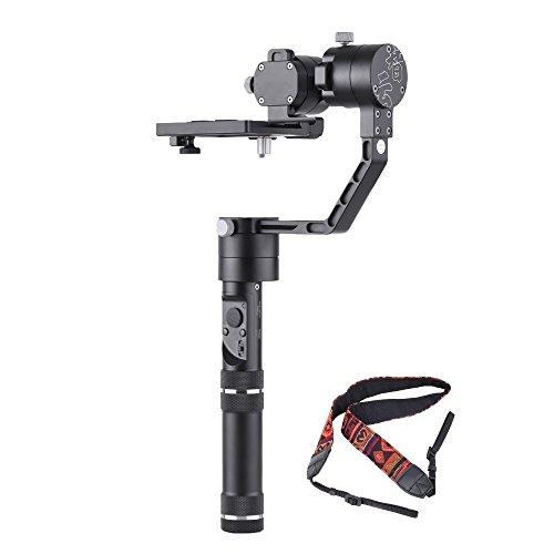 Zhiyun Crane マイクロ シングル ハンドル 3軸 安定 ジャイロ スタビライザー 360無制限回転 カメラストラップ付き Sony A7シリーズ・Panasonic Lumixシリーズ・Nikon Jシリーズ・Canon Mシリーズなどミラーレスカメラ・ILDCカメラに適用