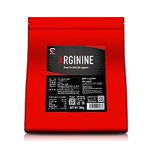 GronG アルギニン パウダー 500g サプリメント アミノ酸 200食分