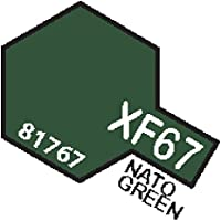 XF67 MIN Nato Green - 10ml jar of Tamiya Color Mini Acrylic Paint