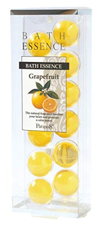 投資するマートくびれたパトモス バスエッセンス 12P グレープフルーツ