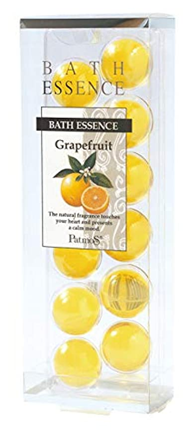 偏差乳白雑多なパトモス バスエッセンス 12P グレープフルーツ