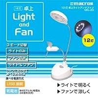 12灯 卓上Light and Fan